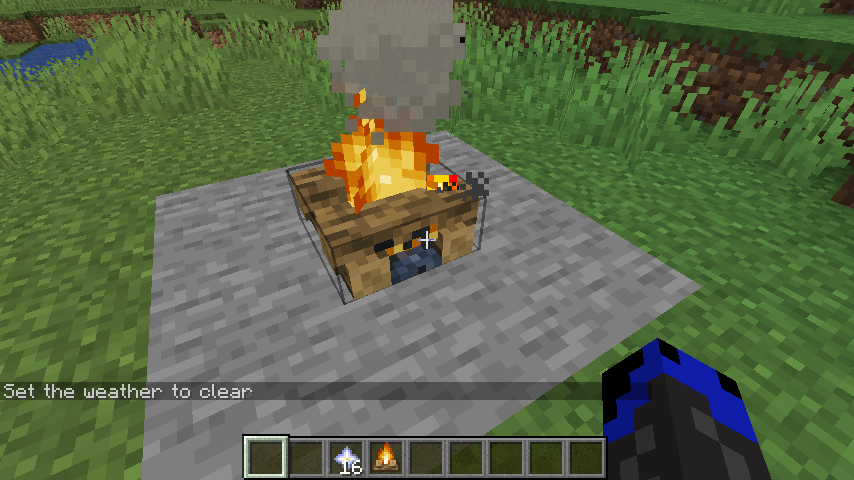 MC-143194] The useage of the campfire block, scaffolding