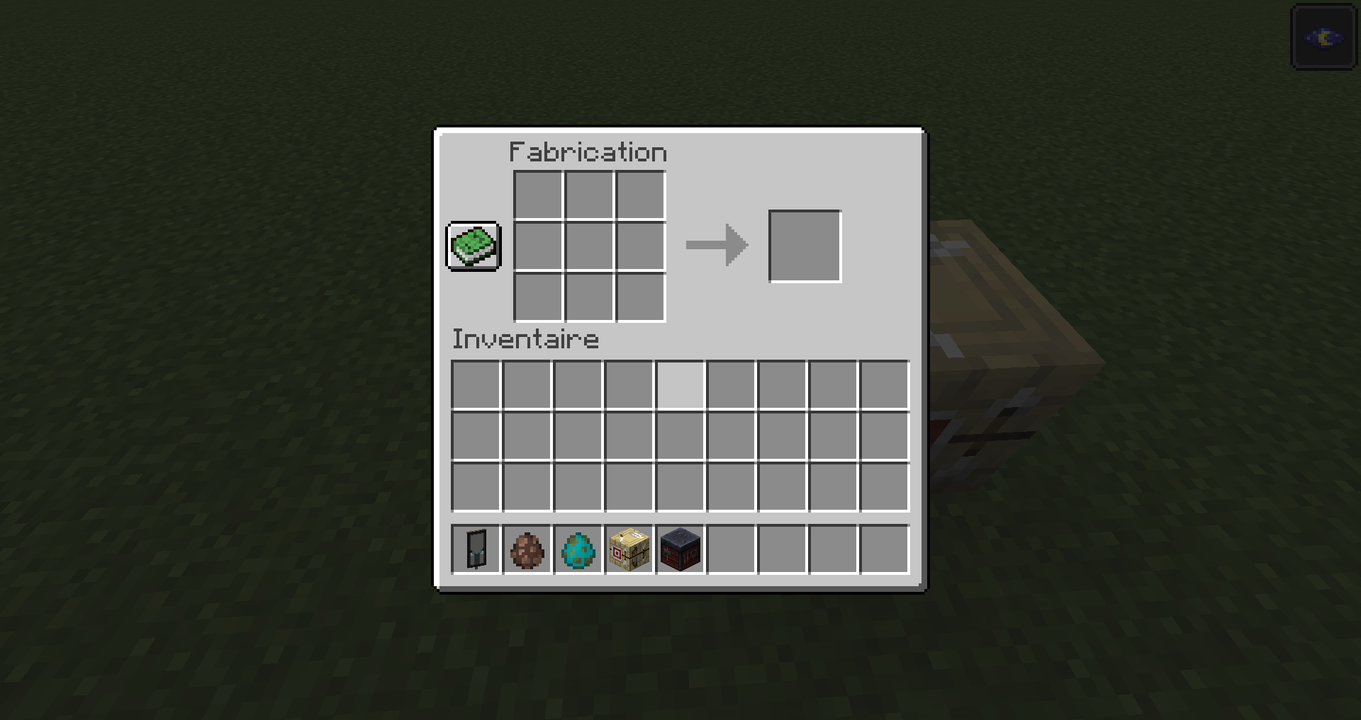 MC-9] Right-cliking on smithing table and fletching table in