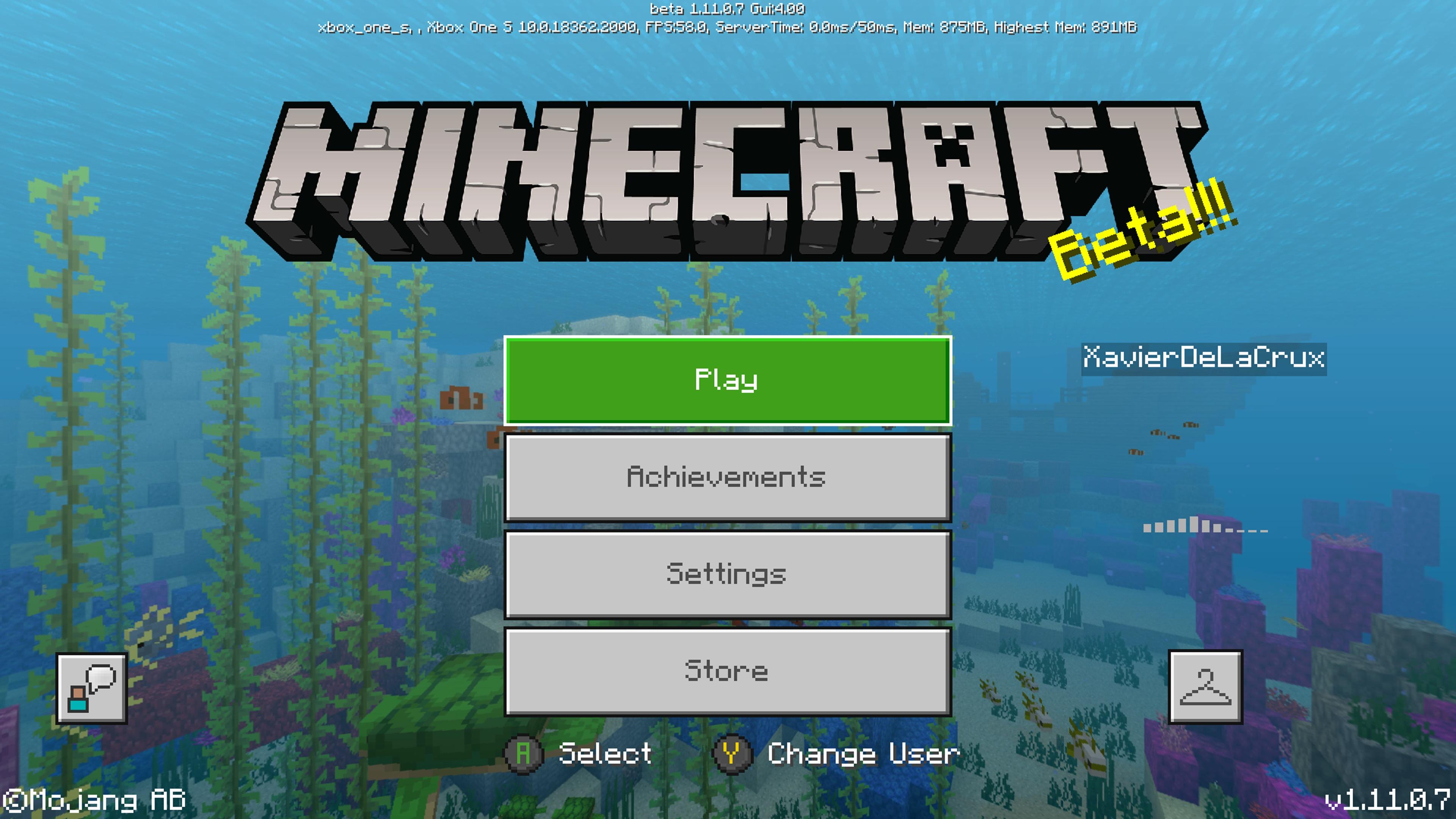 Mcpe 43870 Minecraft Xbox Beta Updating Jira