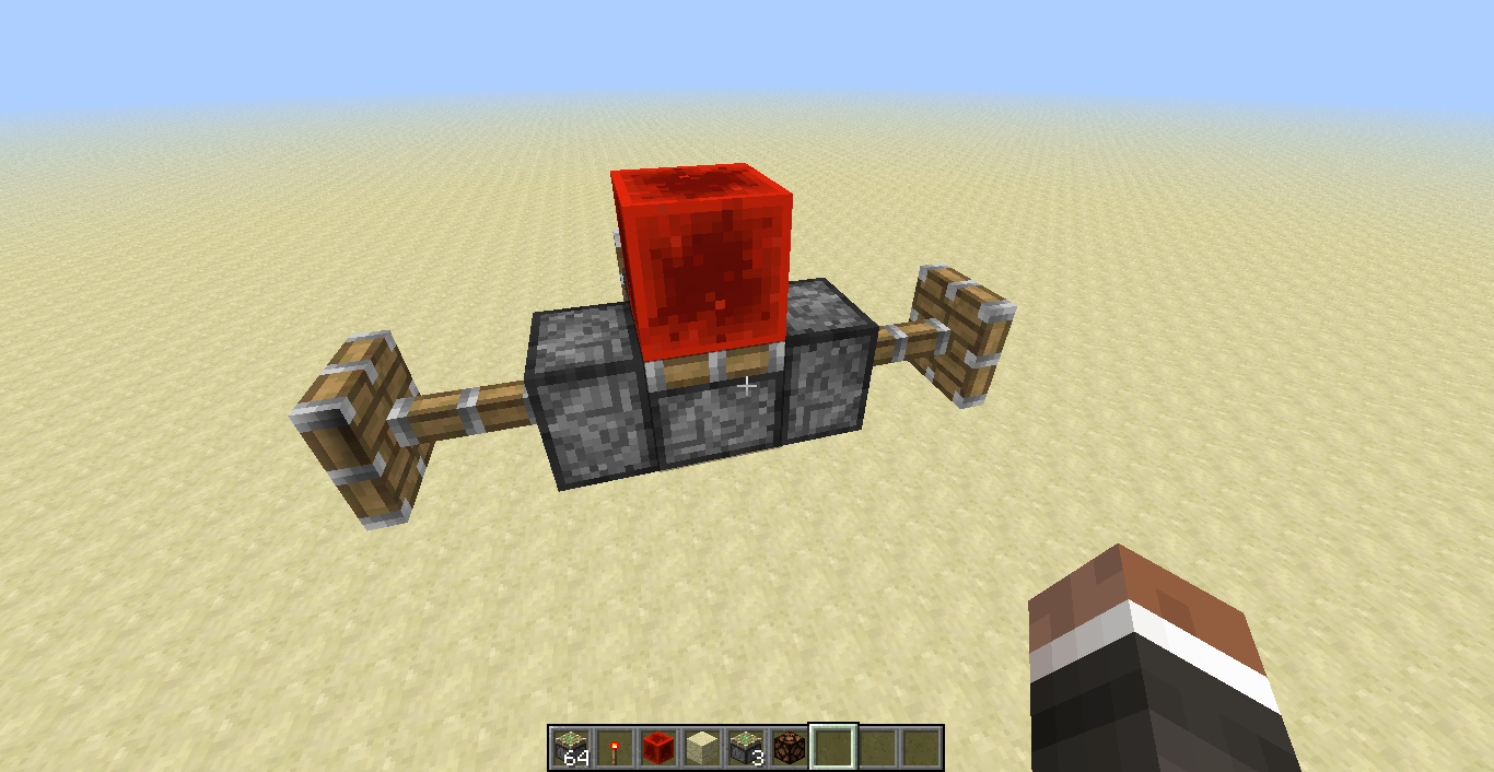 how to make redstone lamps mc