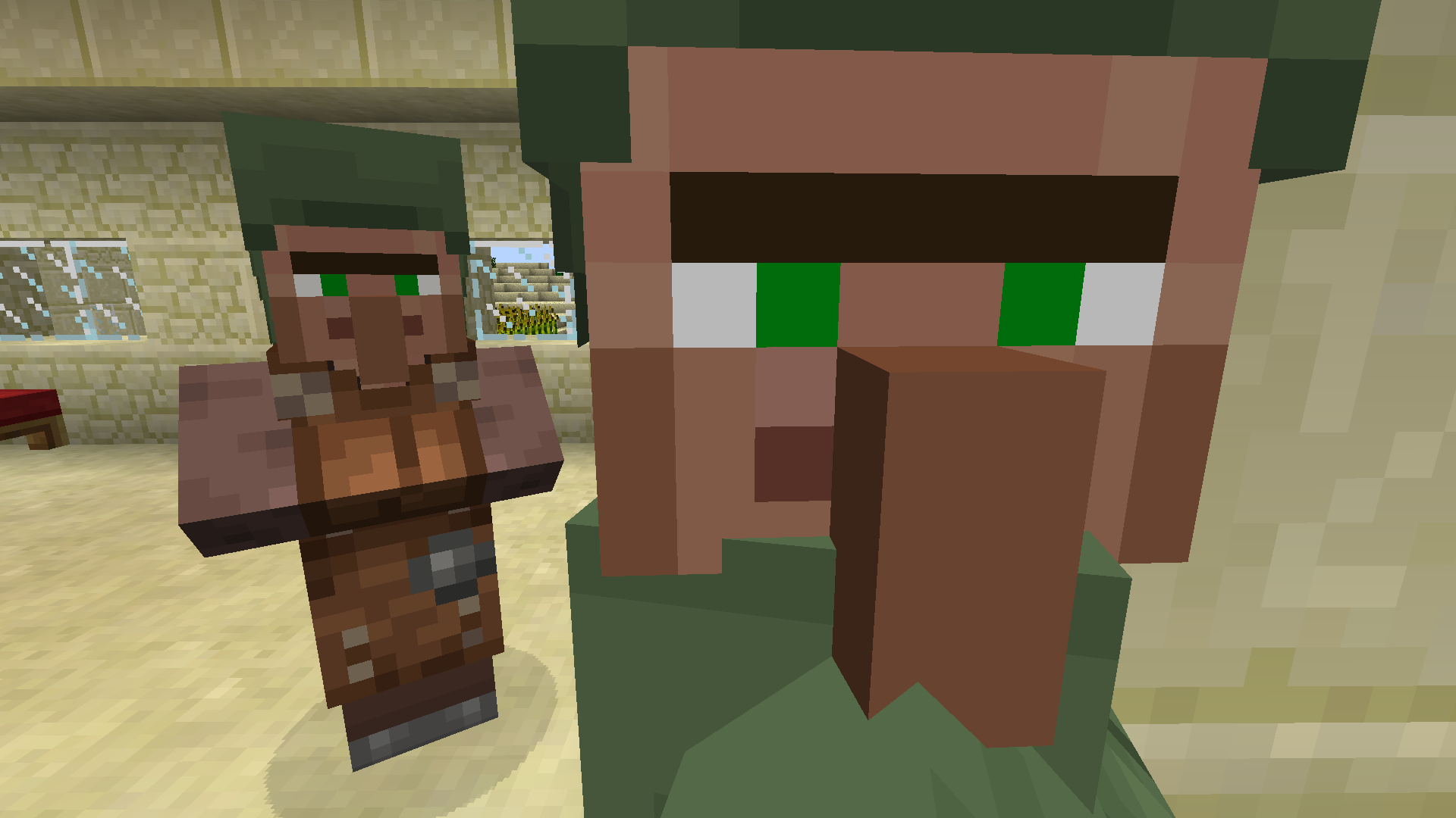 MC-8] Villager Skin Incorrect in Villages Created before 8.84