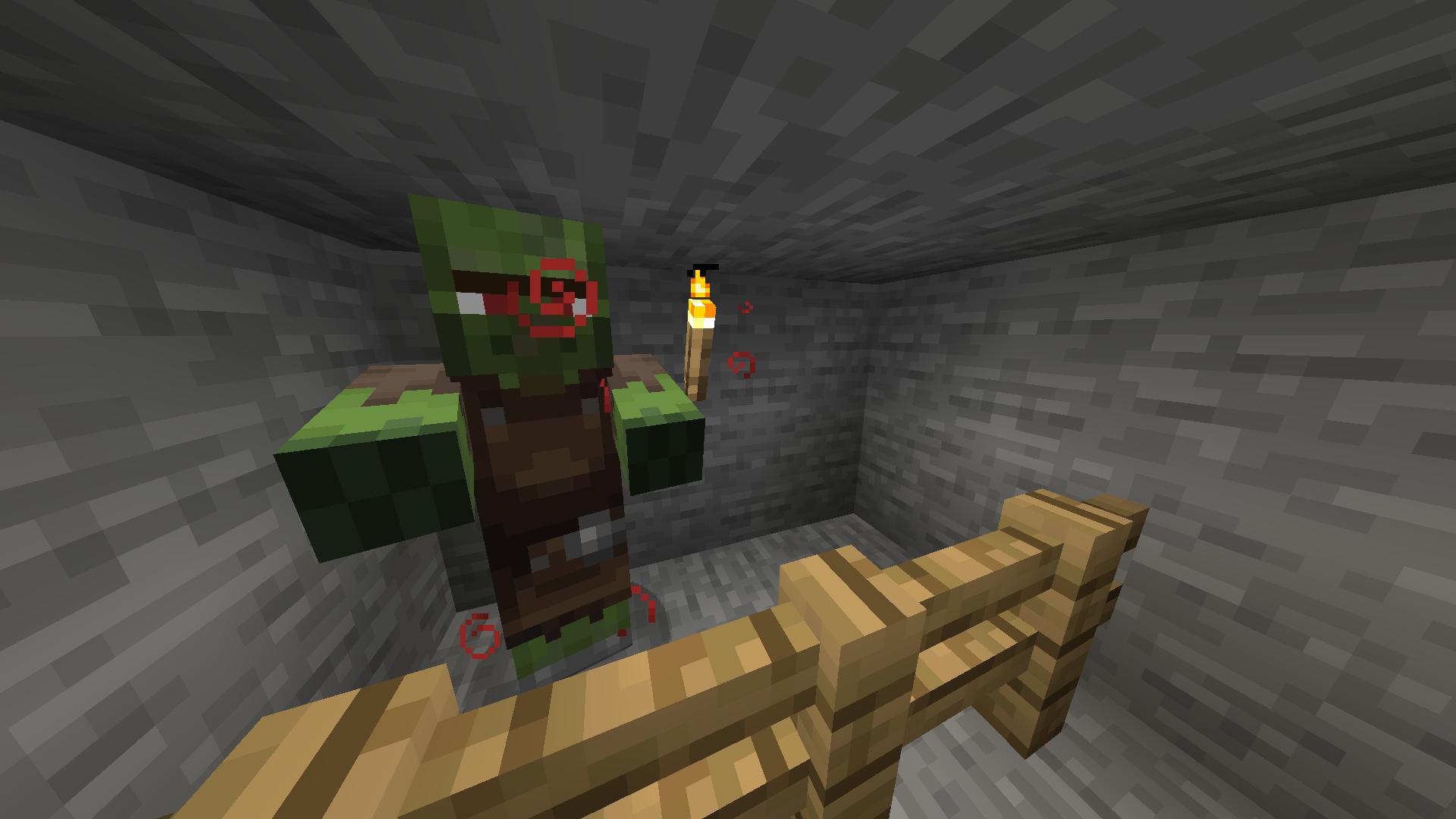 MC-12] Cured zombie villagers lose profession - Jira