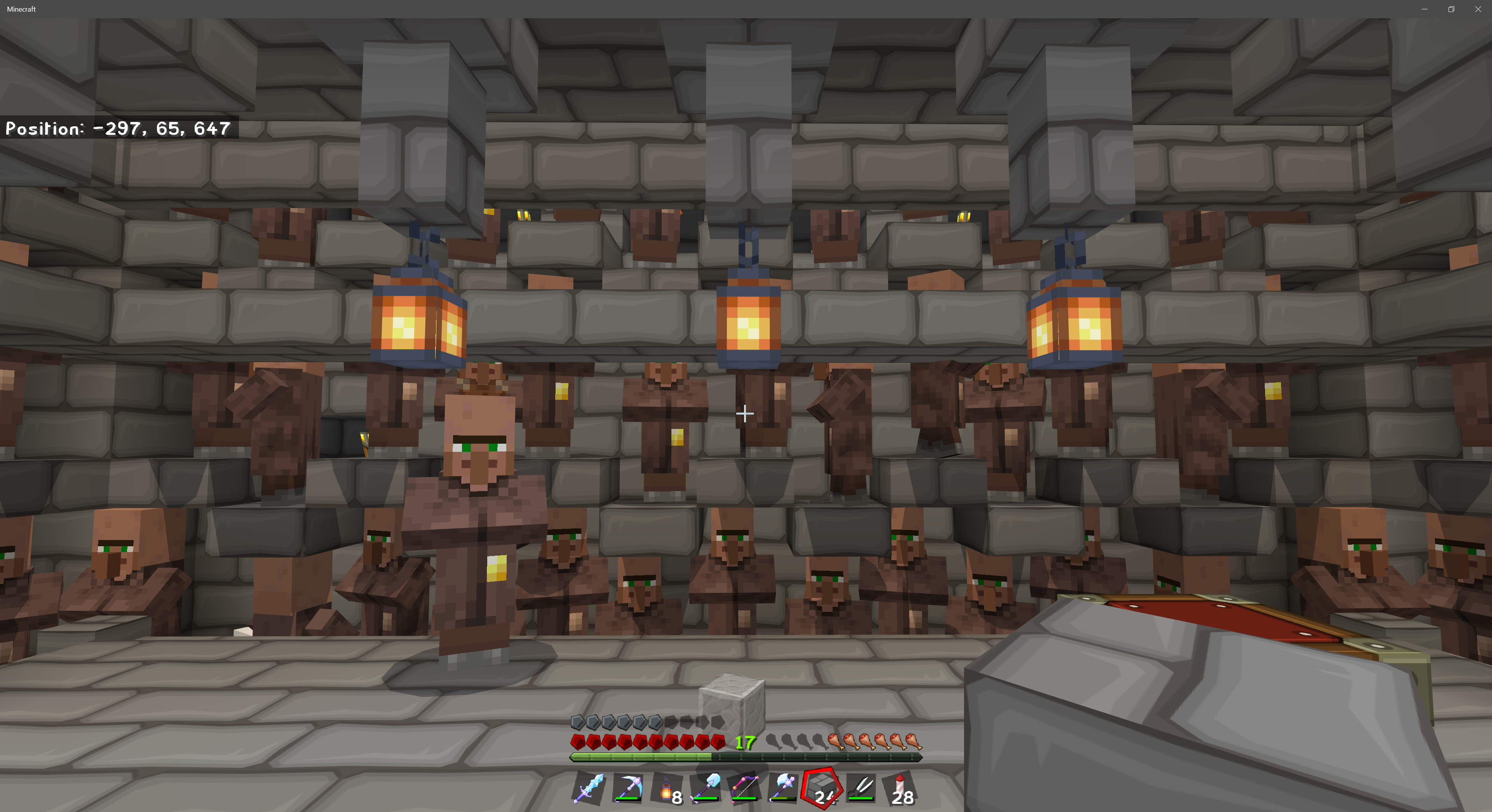 Minecraft Simple Villager Trading Hall - Beautiful Foto