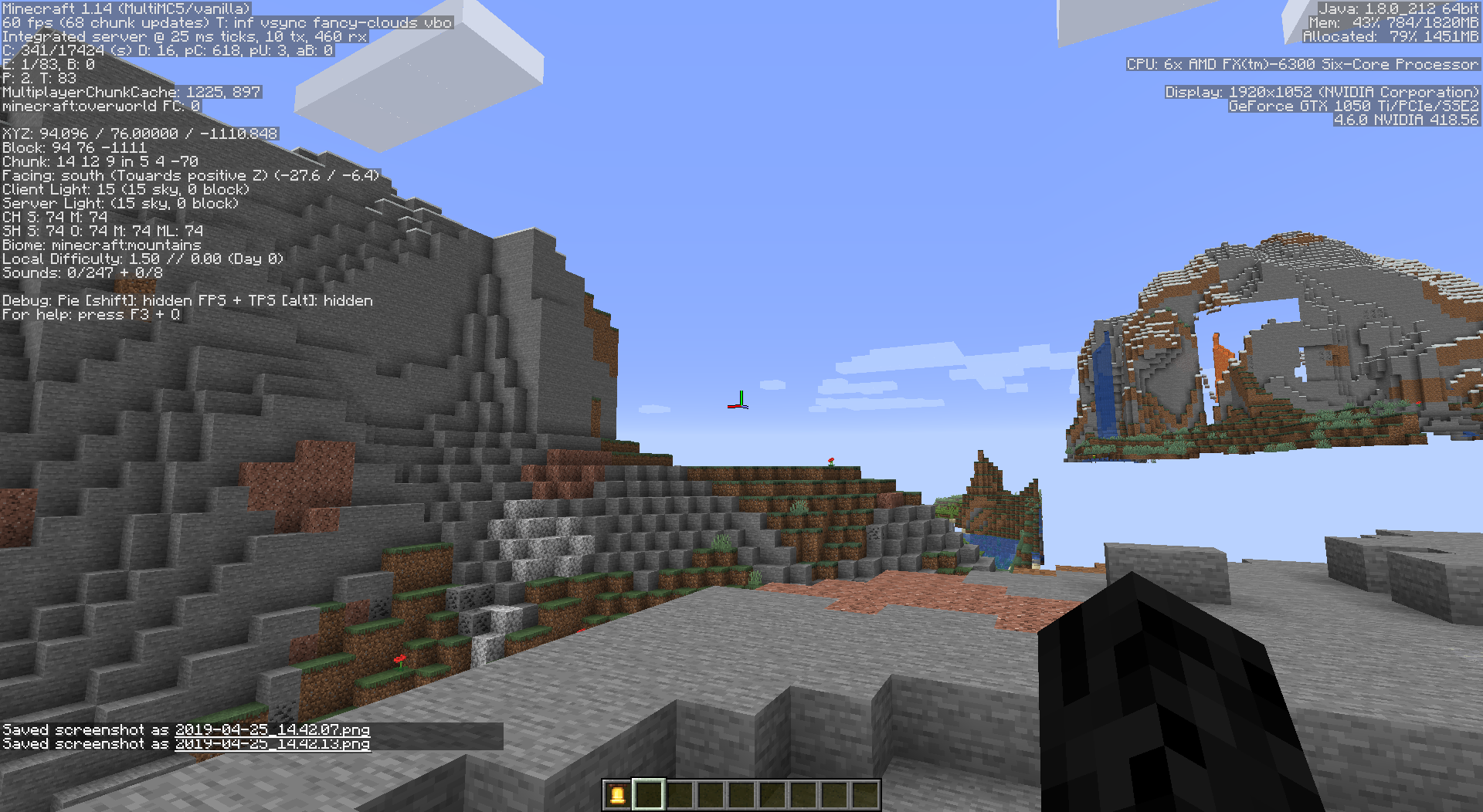 MC-149178] Chunk rendering is extremely slow and random in