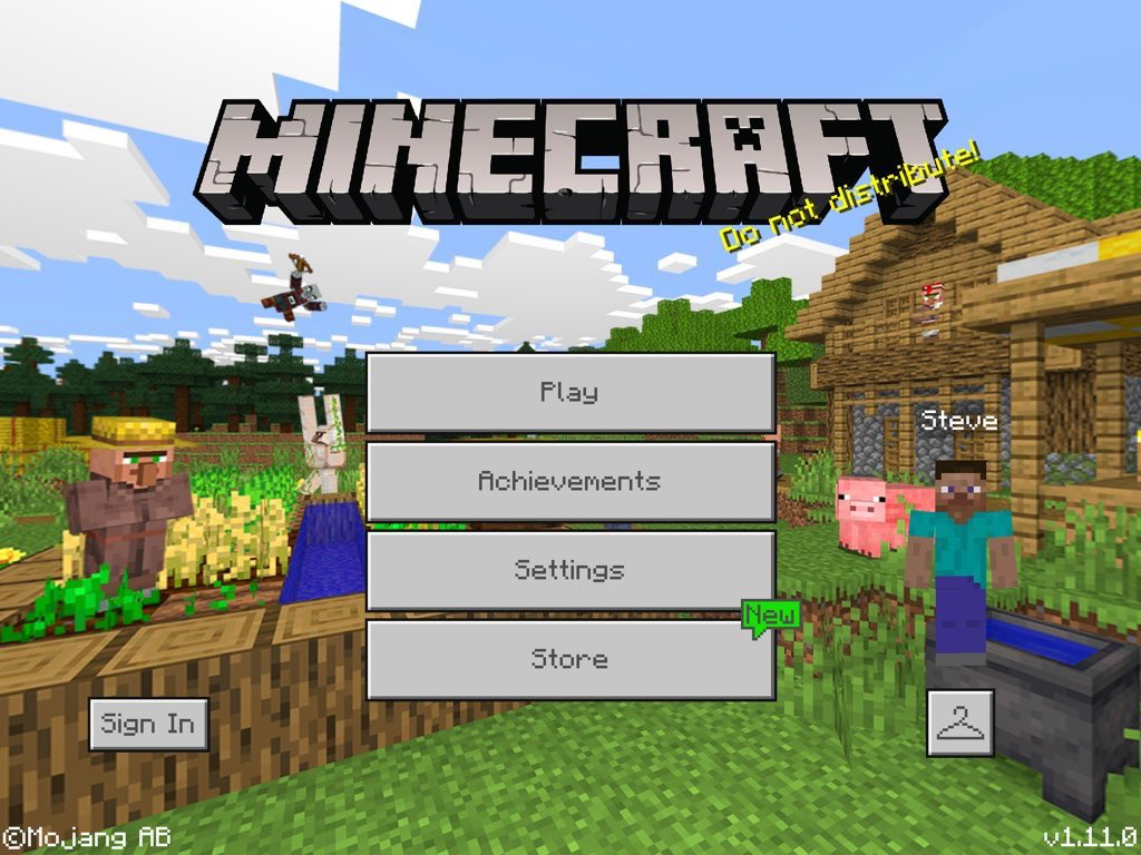 Mcpe 44993 Panorama Of The Main Screen Doesn T Change To The Village Pillage Jira