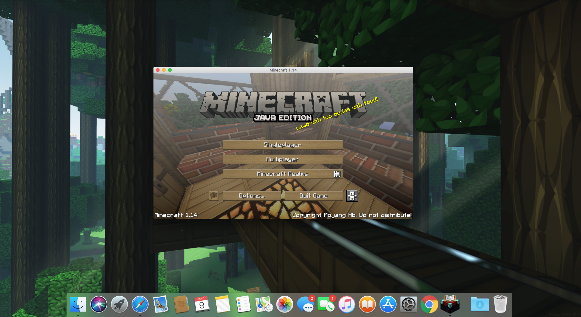 Mc 121508 Minecraft Icon On Macos Is Not Showing Correct