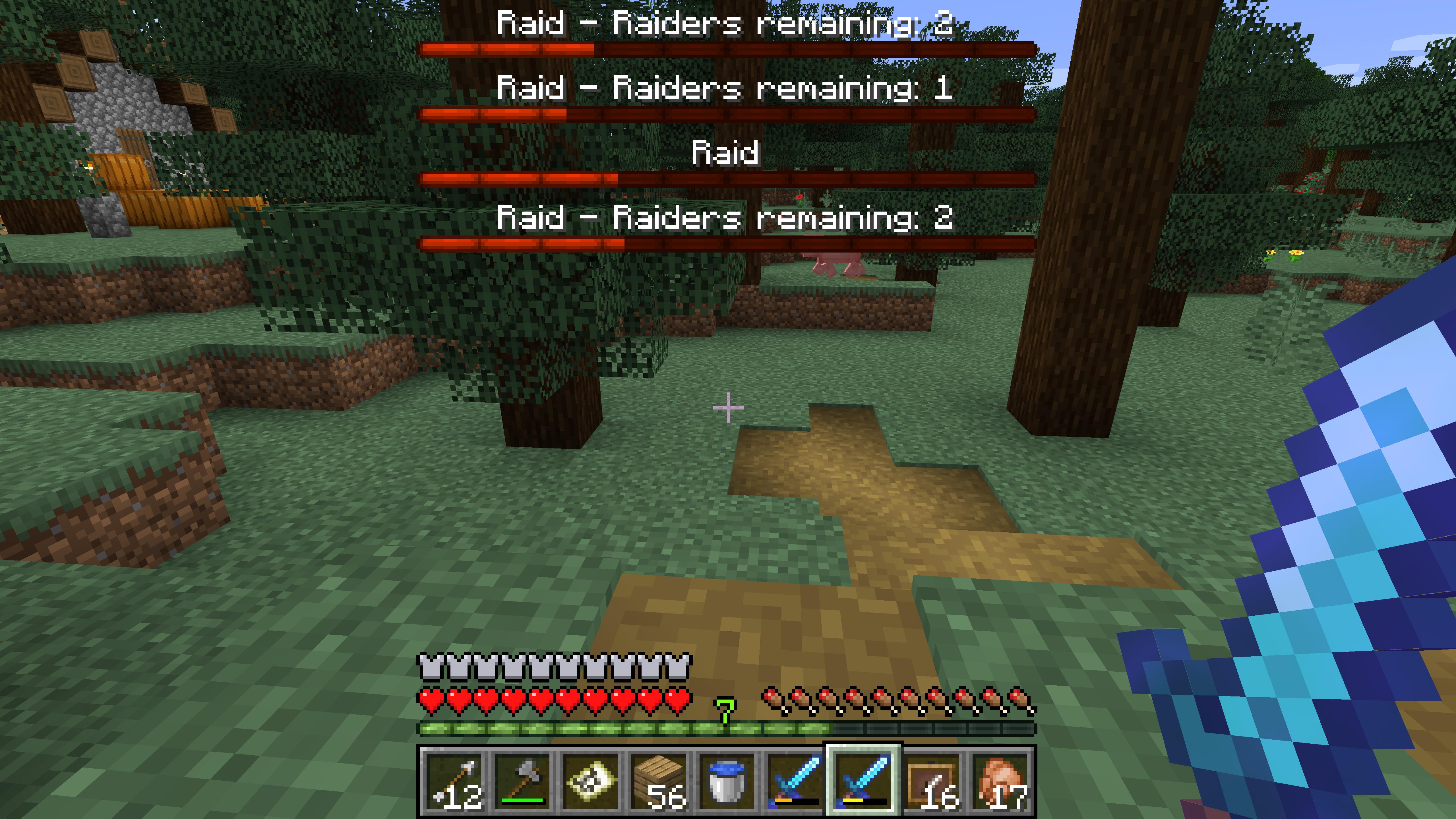 MC-151753] More than one raid can happen in a village - Jira