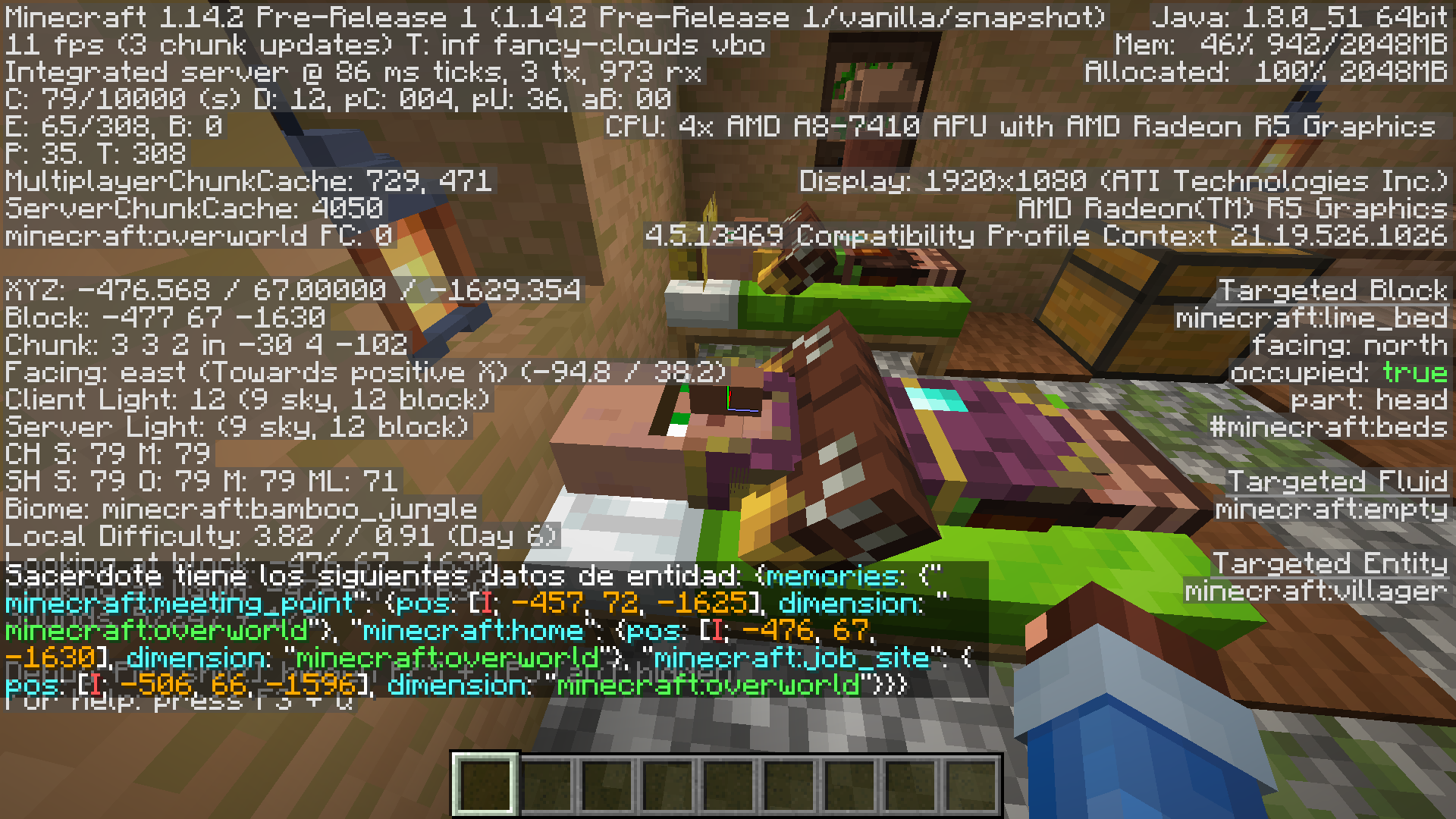 MC-151225] Upgrading Worlds from 1 14 causes Villagers to lose their