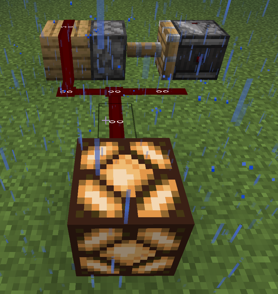 MC-153356] Redstone clock creating a buggy signal (simlar to 0 tick
