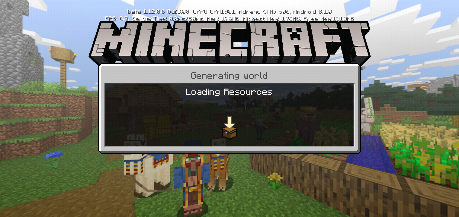 [MCPE-46910] I Want To Opening The World Instead Saving