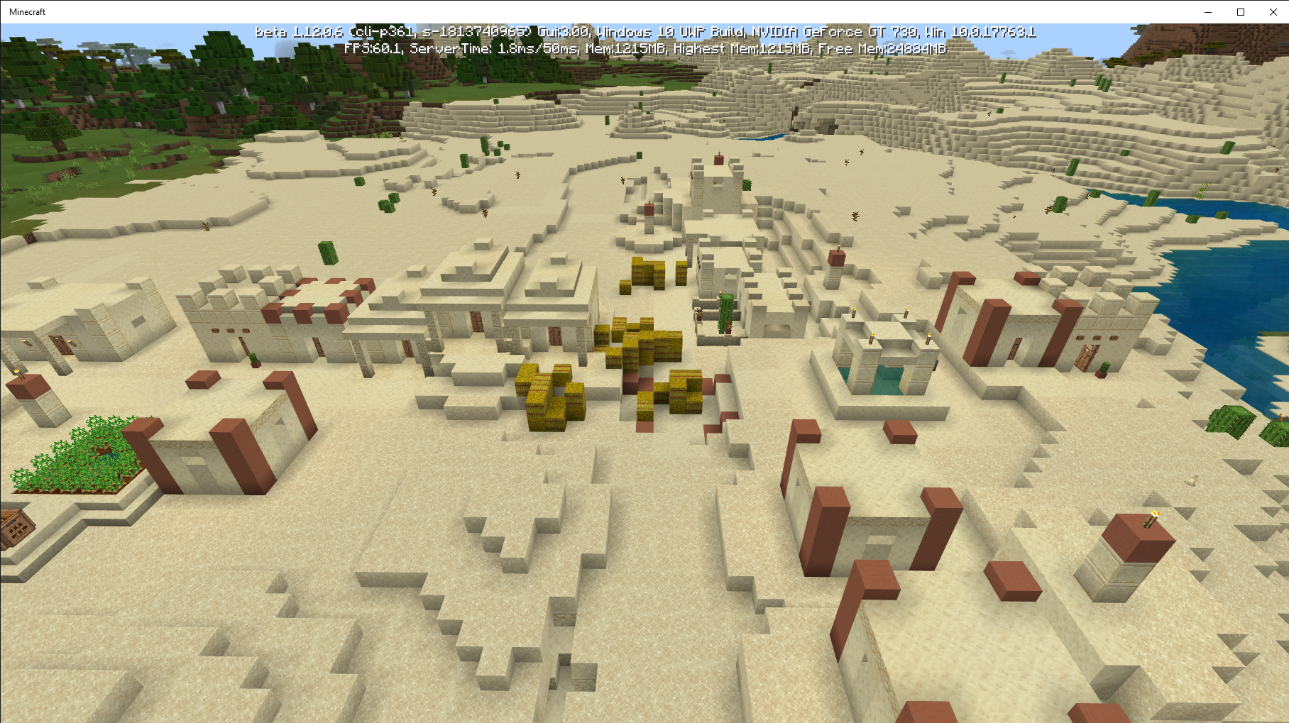 MCPE-45993] Villages are deserted - Jira