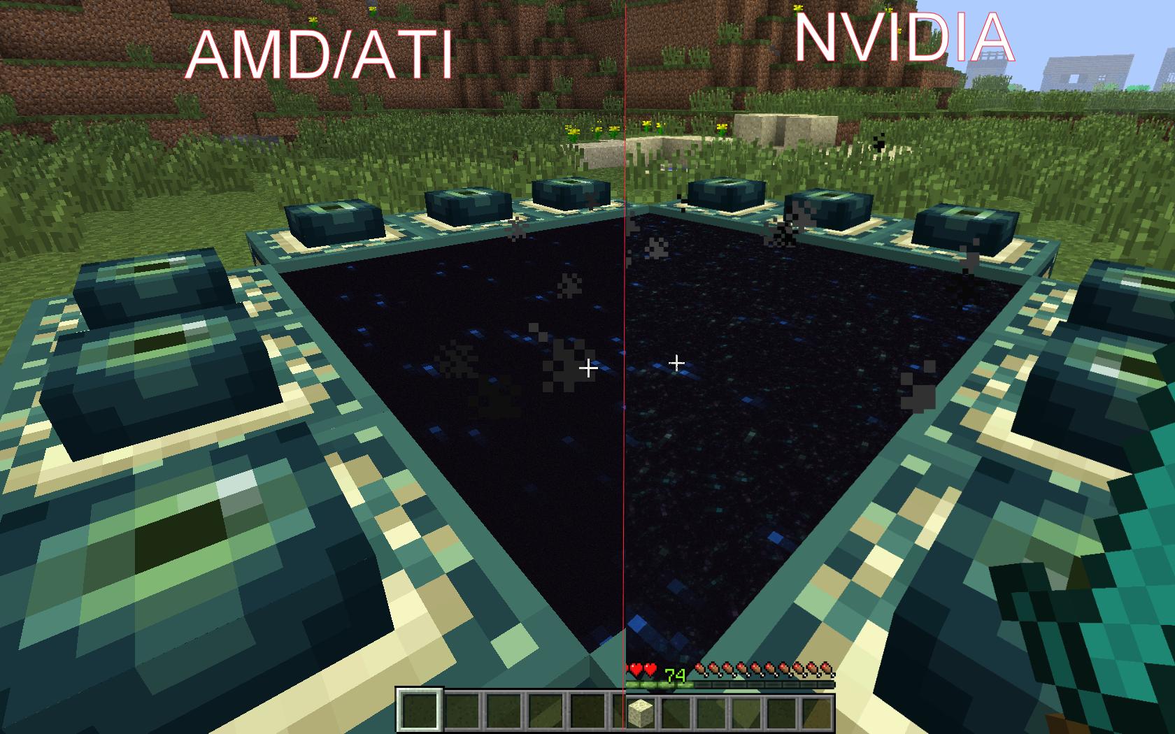 minecraft end portal mod
