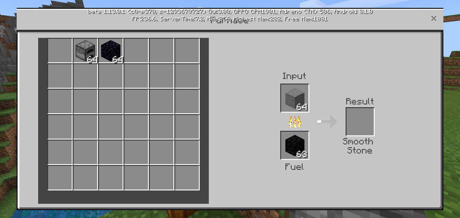 minecraft smooth stone