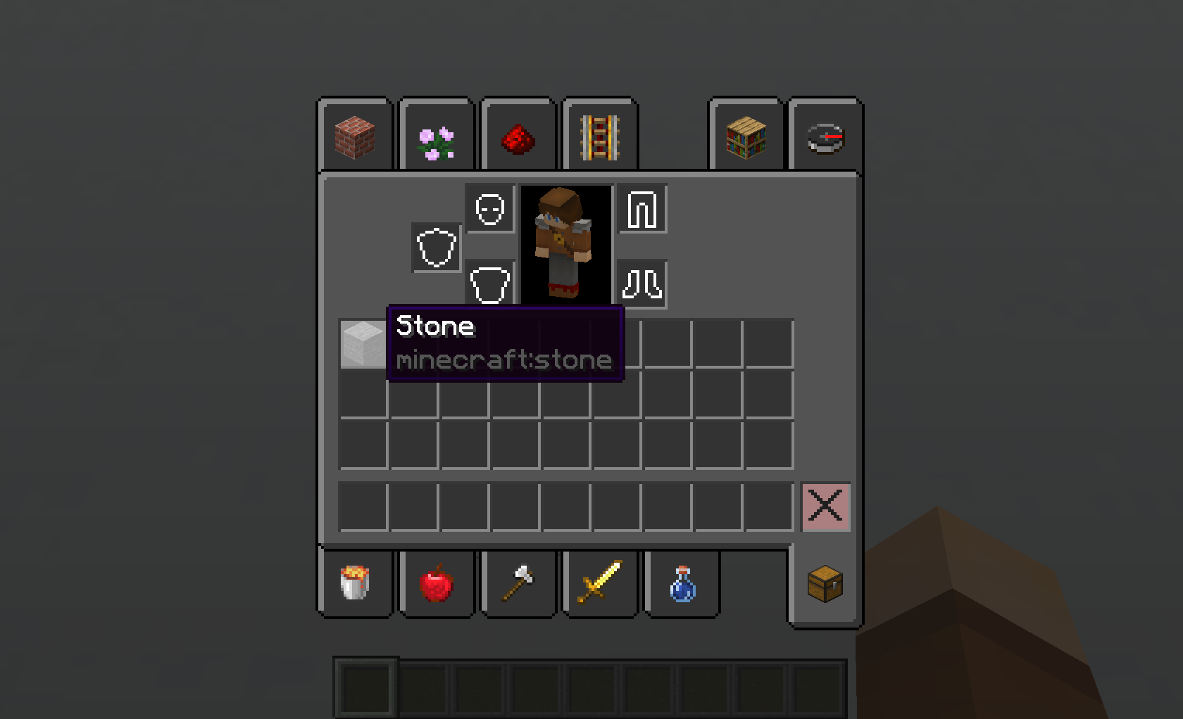 MC-156644] Shift-clicking item from inventory to hot-bar while