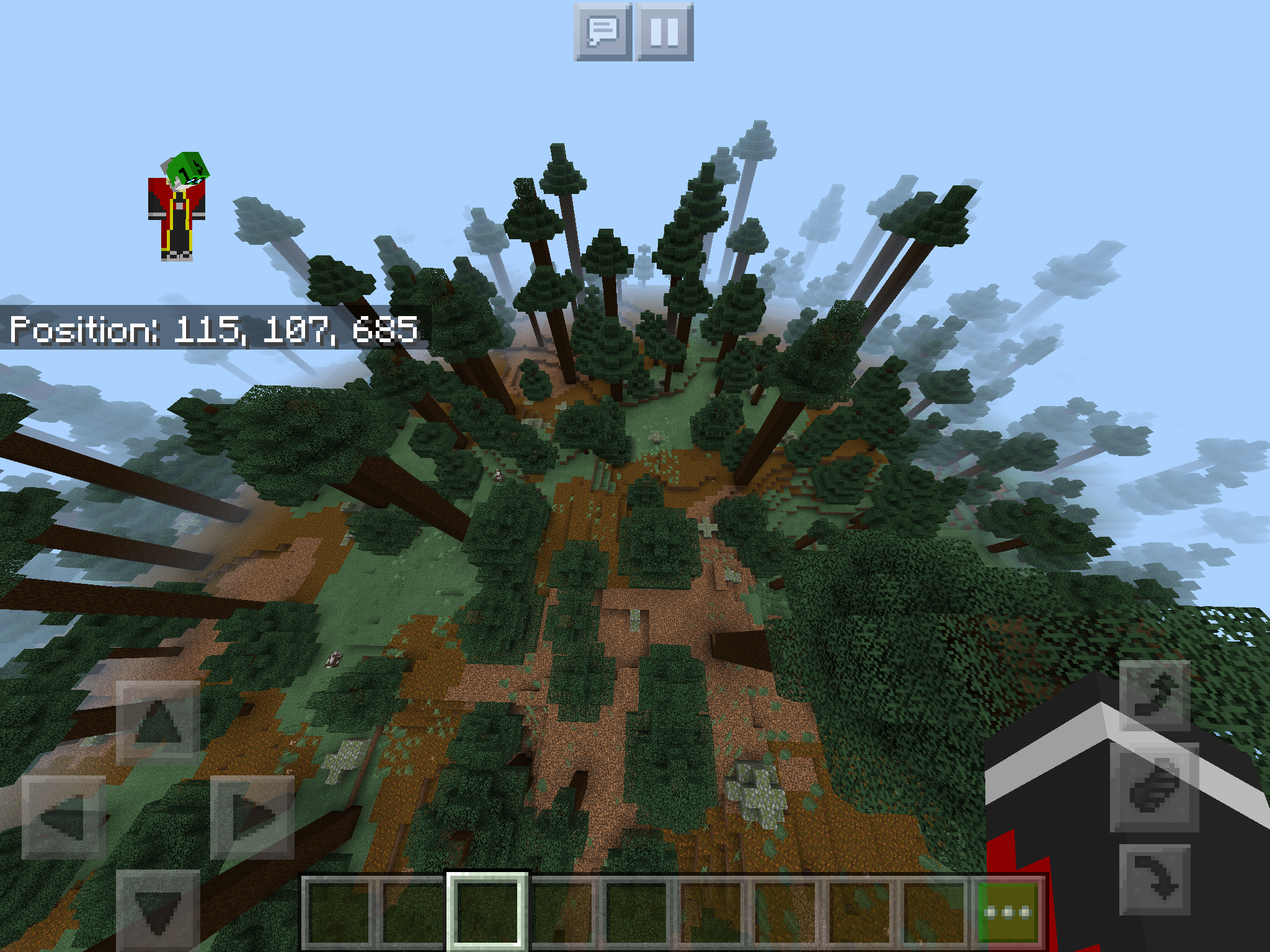 MCPE-49949] Trees in Giant spruce taiga hills generate normal