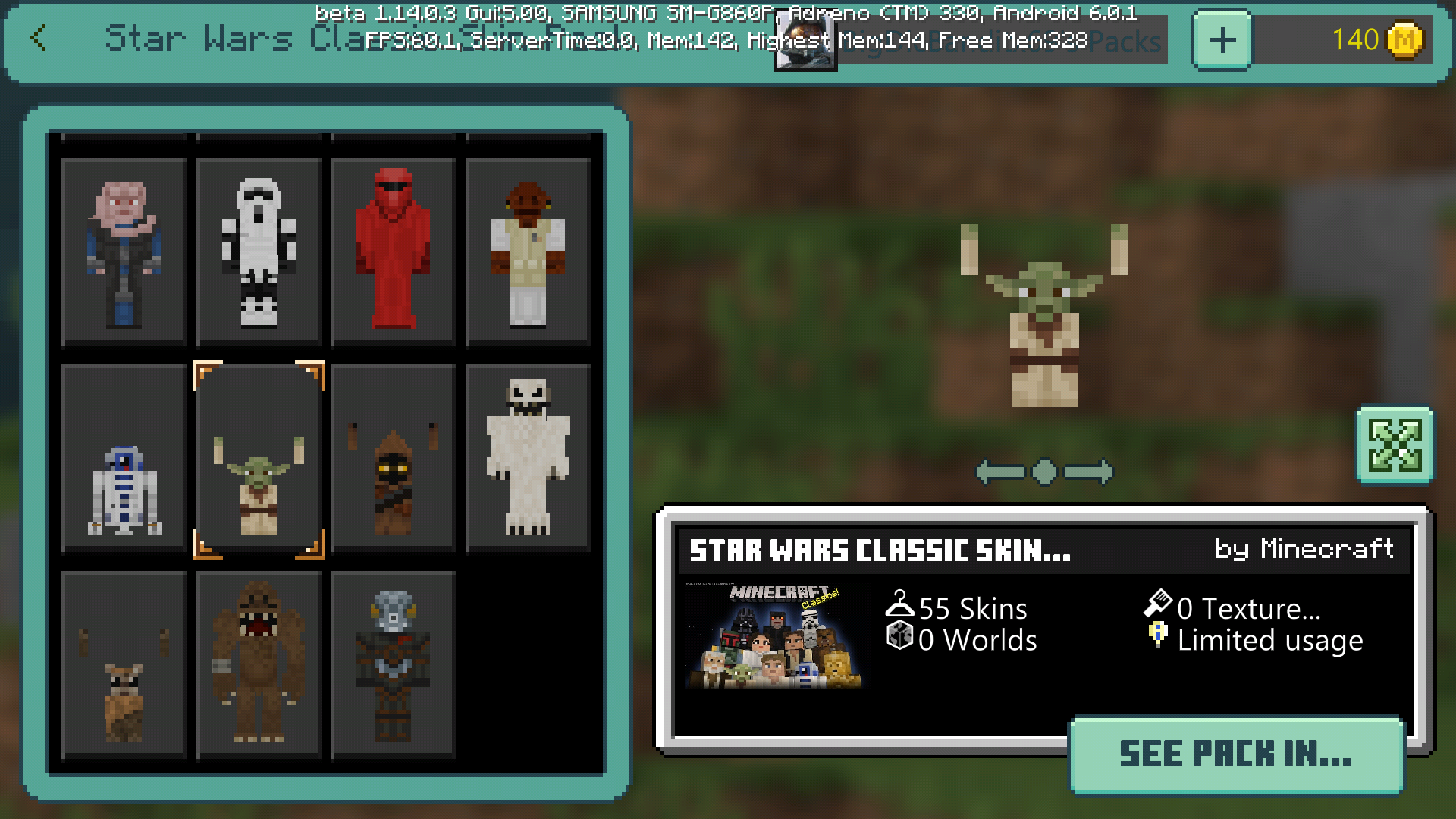 Bds 1623 Some Of The Skins In The Star Wars Classic Pack Are Messed Up And They Have Messed Up Flouting Arms Please Help I Paid Money For This Skin Pack Jira