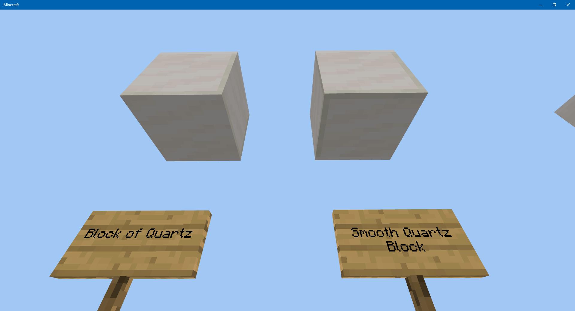 Mcpe 42276 Quartz And Smooth