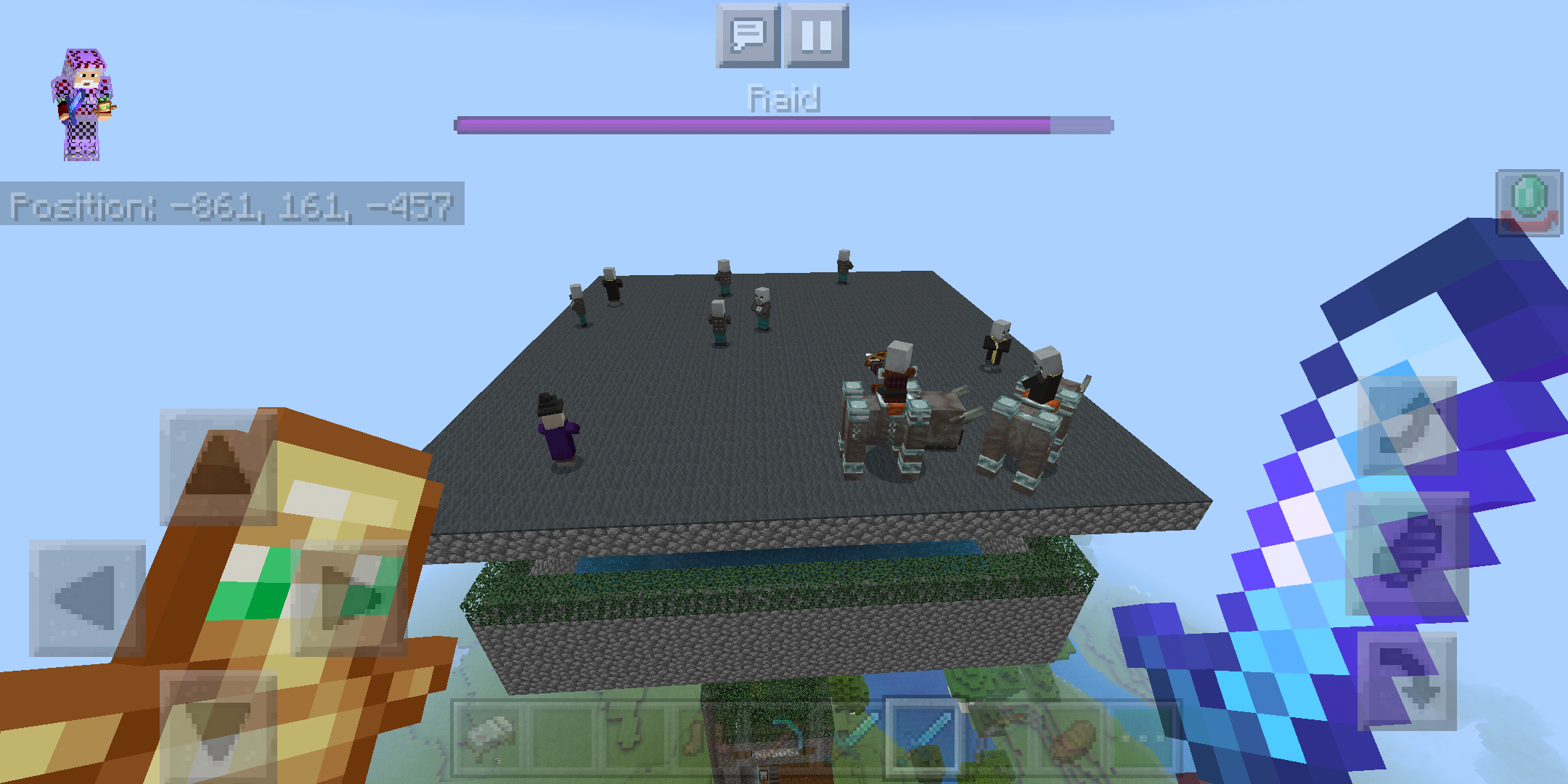 Mcpe 59682 Mob Farms And Structure Farms Not Spawning Mobs Or