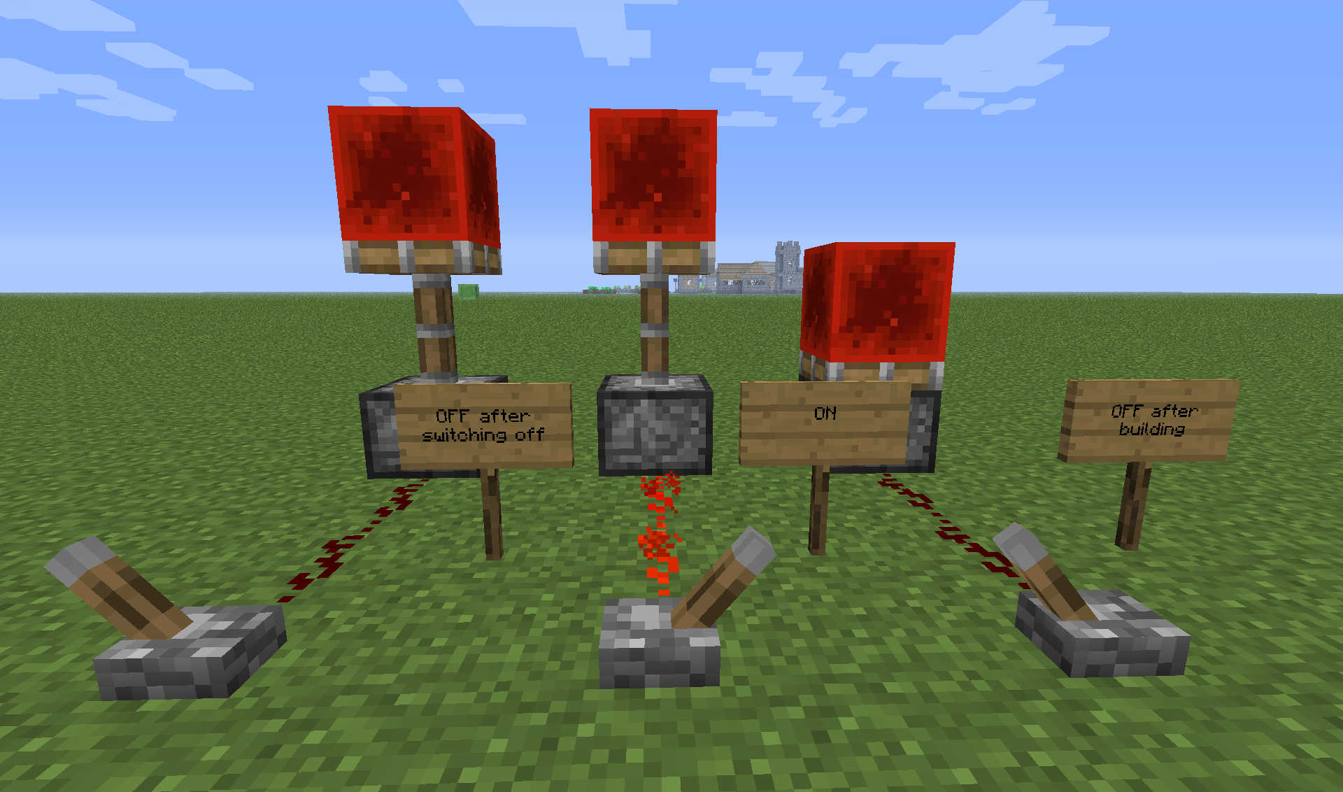 how to make a sticky piston in mc