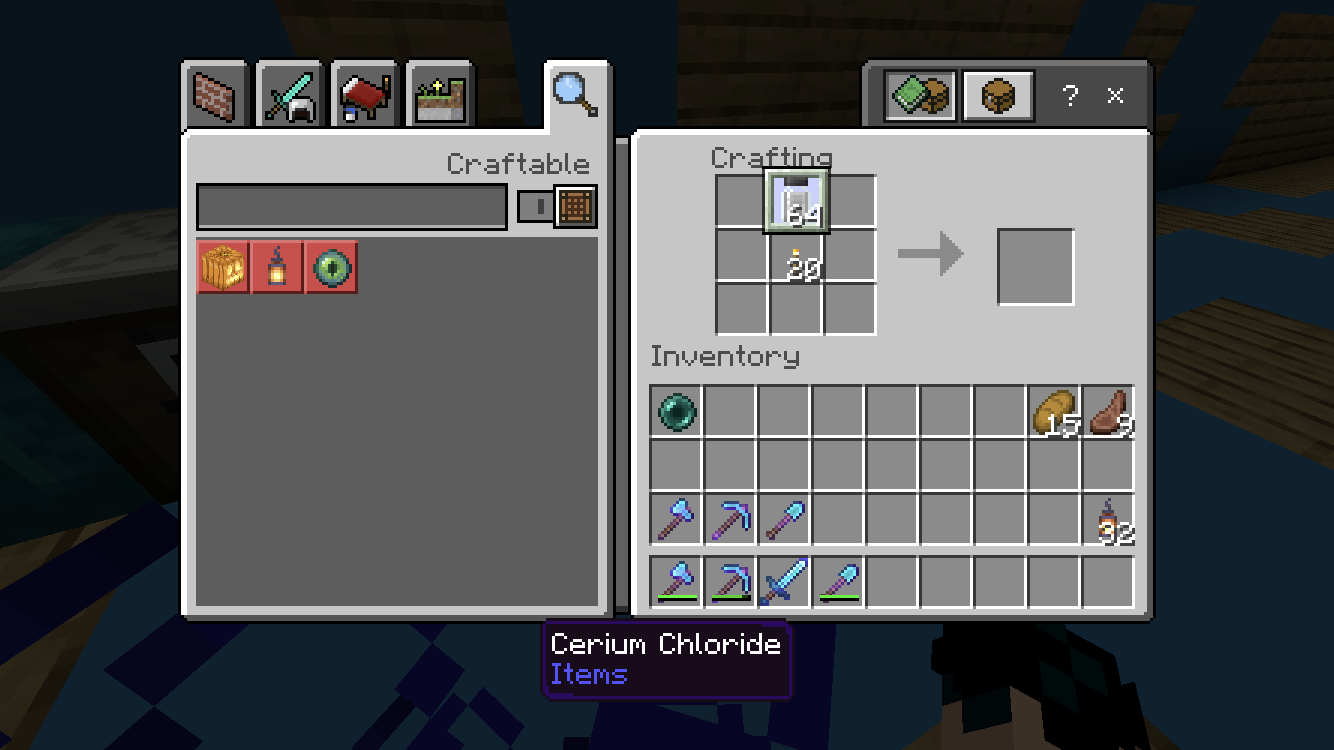 Bds 2675 Using Mcpe Education Edition I Used To Be Able To Create Underwater Torches And Colored Torches But As Of The Last Time I Checked Which Was When The Aquatic Update Came