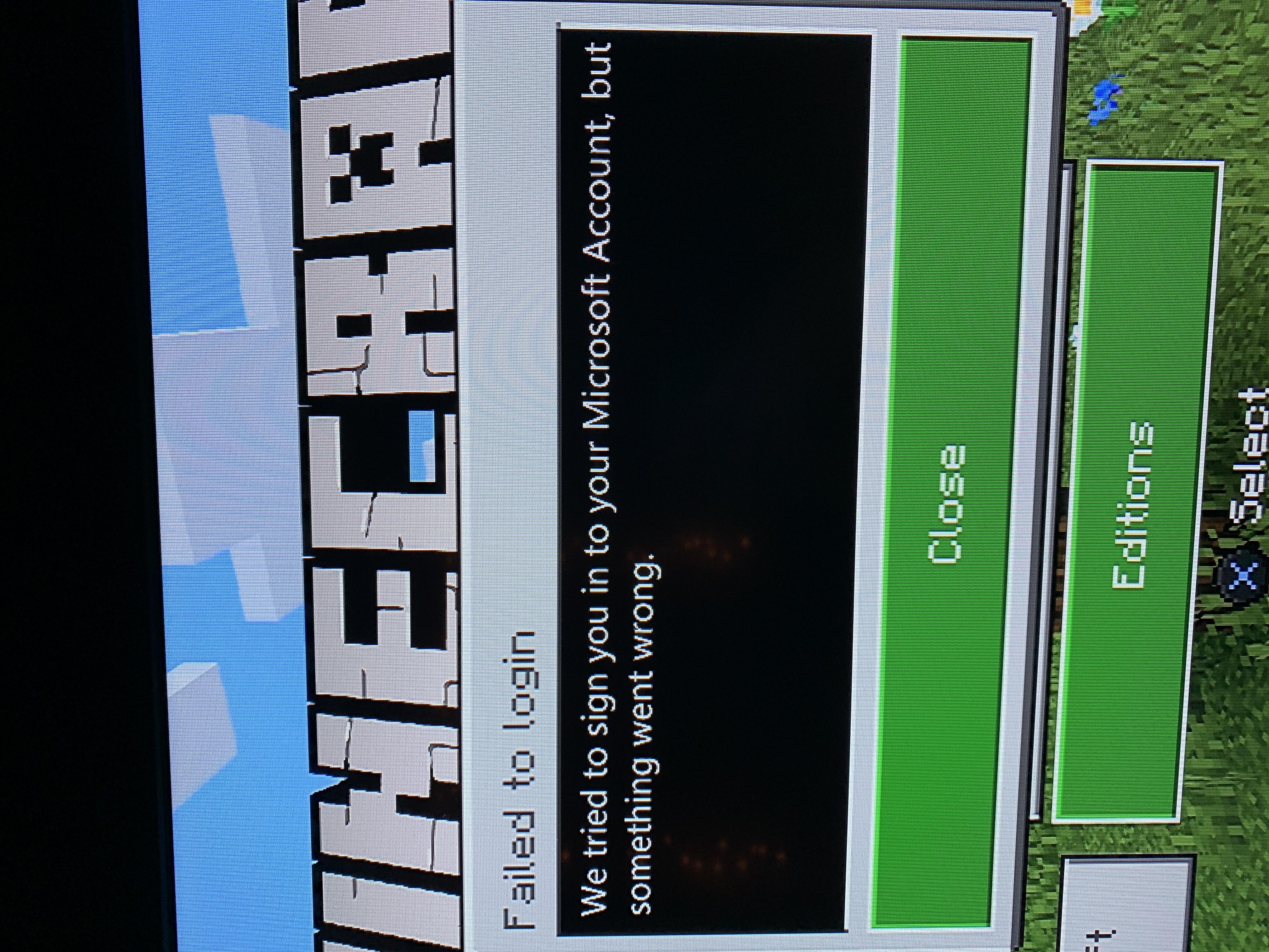 MCPE 61584 PS4 Bedrock Edition: Failed to login Jira