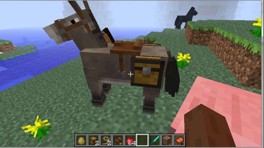 як зробити сидло на коня в майнкрафт #4