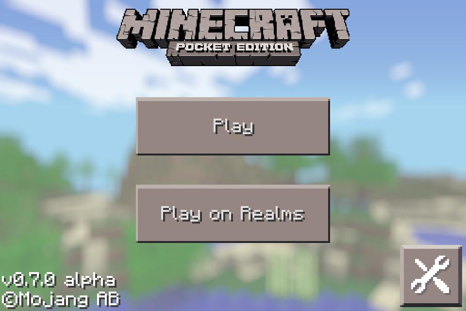 how i make a Minecraft PE Realms Server