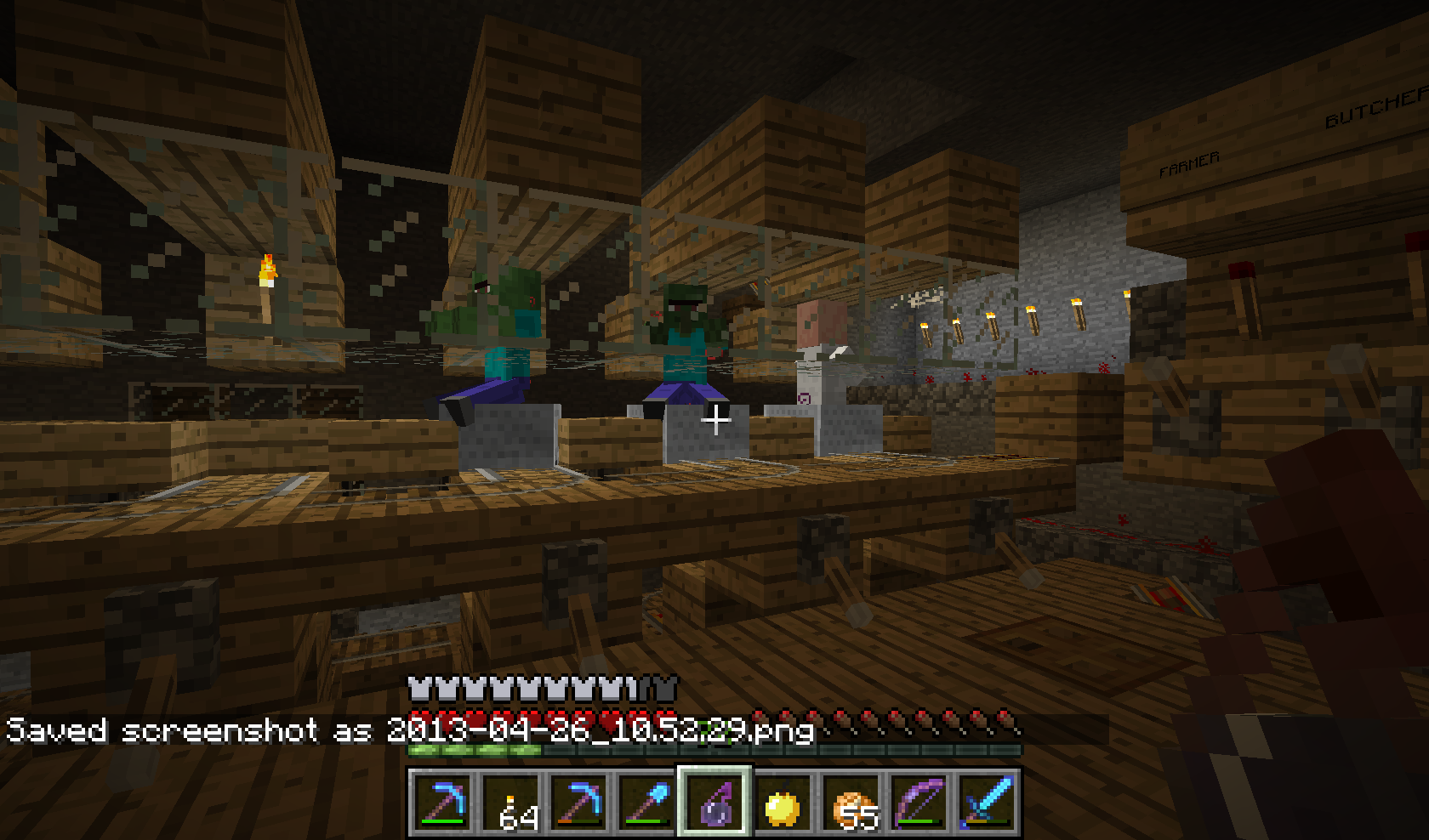 MC-10] zombie villagers despawn after curing with potion and
