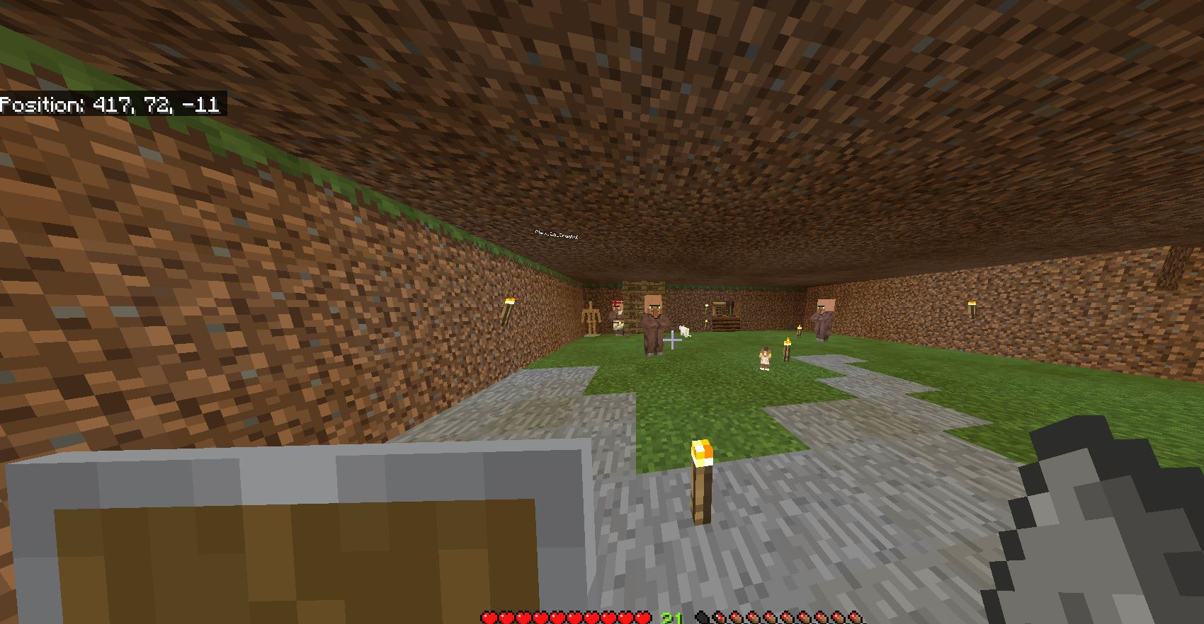 MCPE-11] villagers respawn and then they disappear - Jira