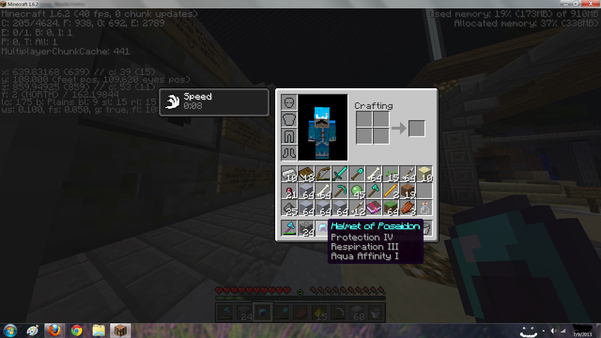 MC 24453 Items like tools weapons armor etc named with the
