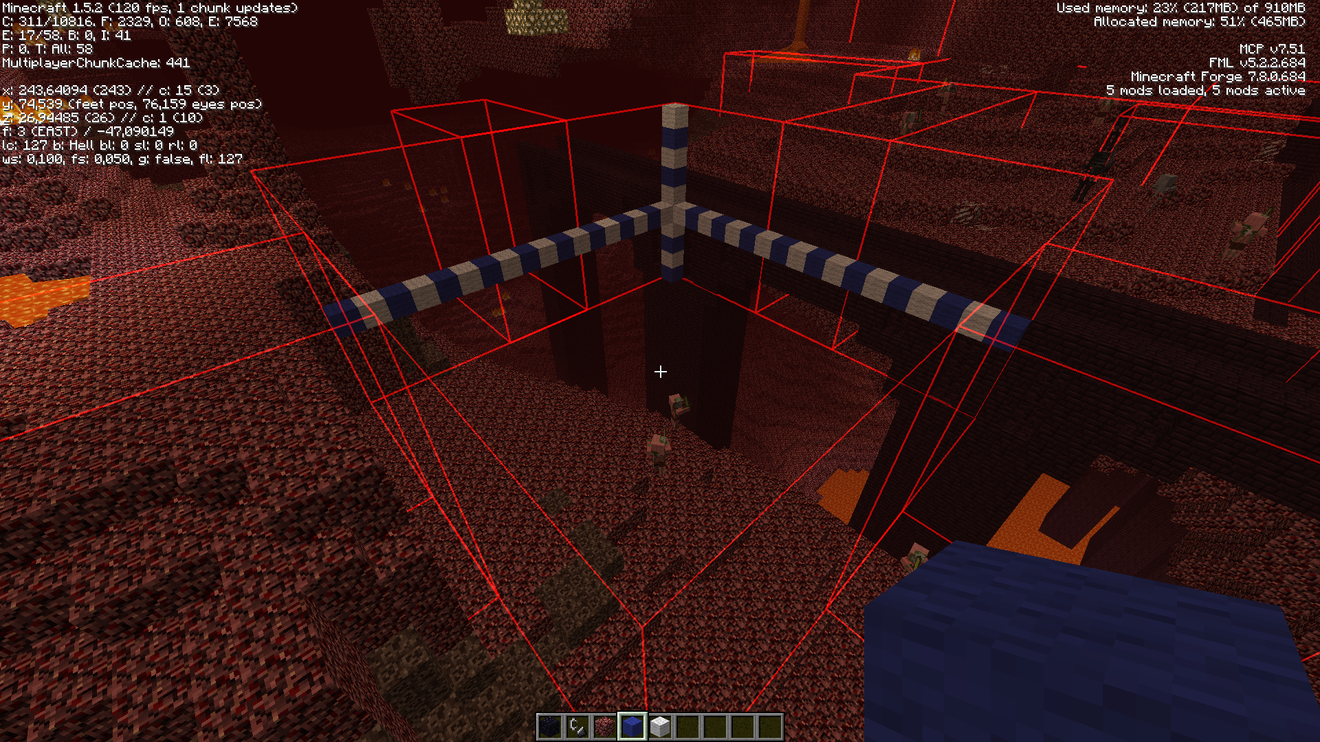 MC-15547] Structures (witch huts, nether fortresses etc