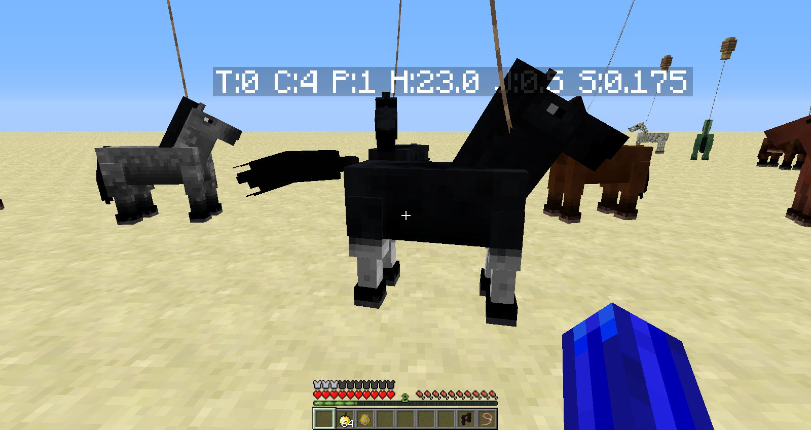 MC-16533] Horse Breeding never exceeds egg/spawn horse