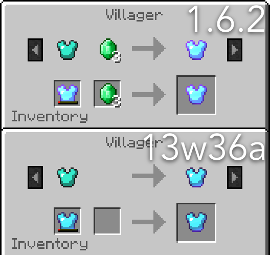 Villager trade options minecraft