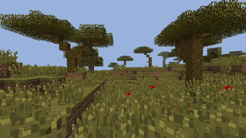 Mc 29510 New Trees That Spawn In Savanna Drop Wrong