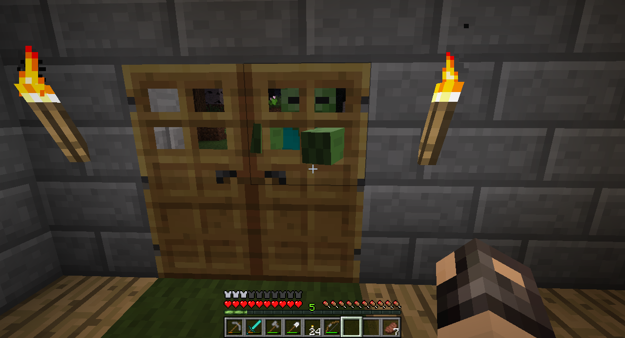 MC-11] Zombies not attacking doors - Jira