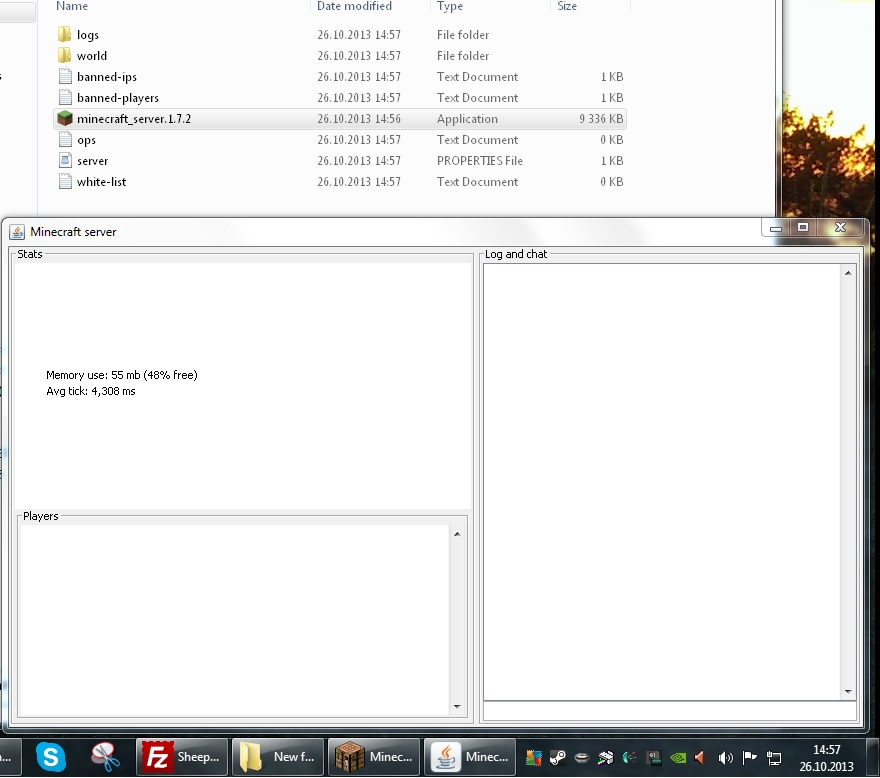 Minecraft server 1.7.10 exe