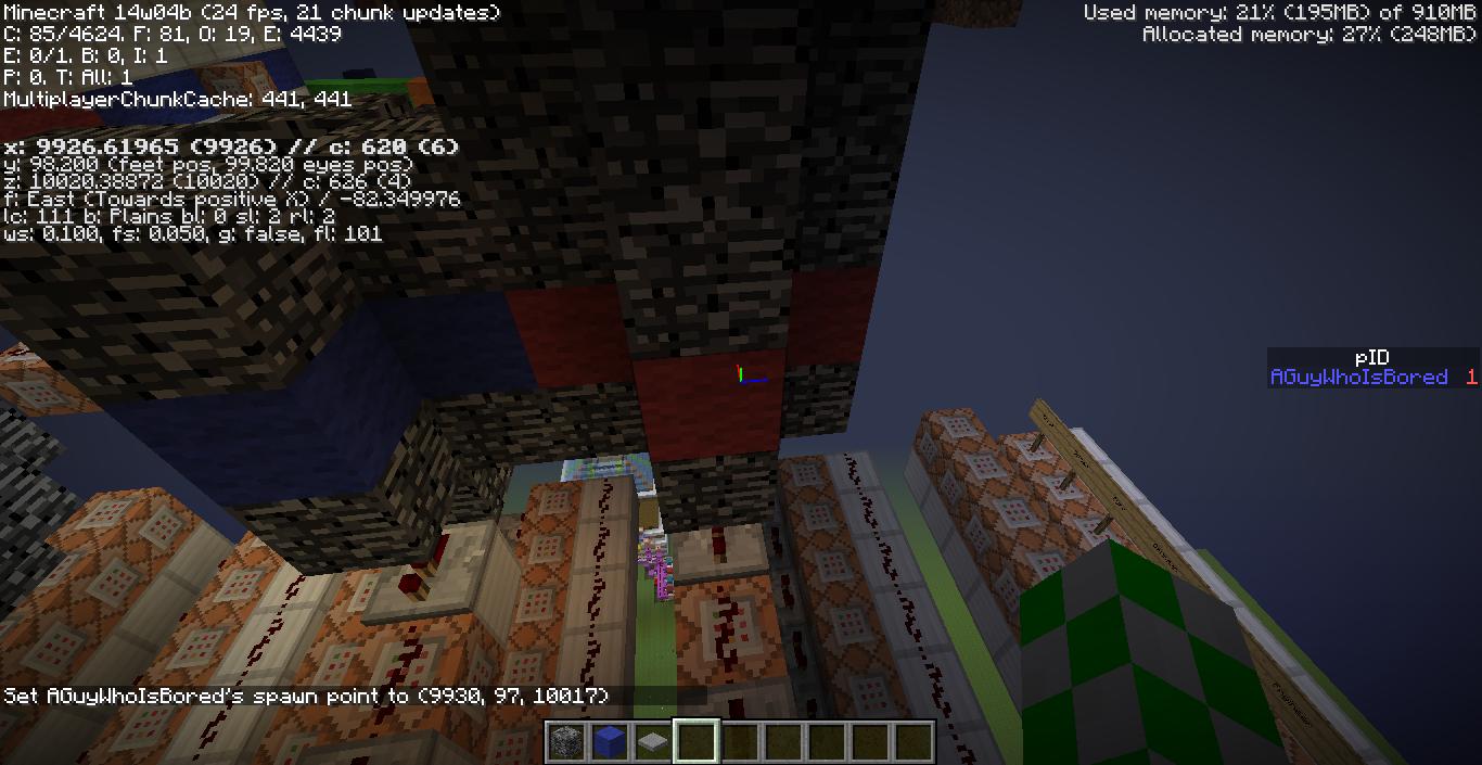 MC-45971] /spawnpoint not working in command blocks - Jira