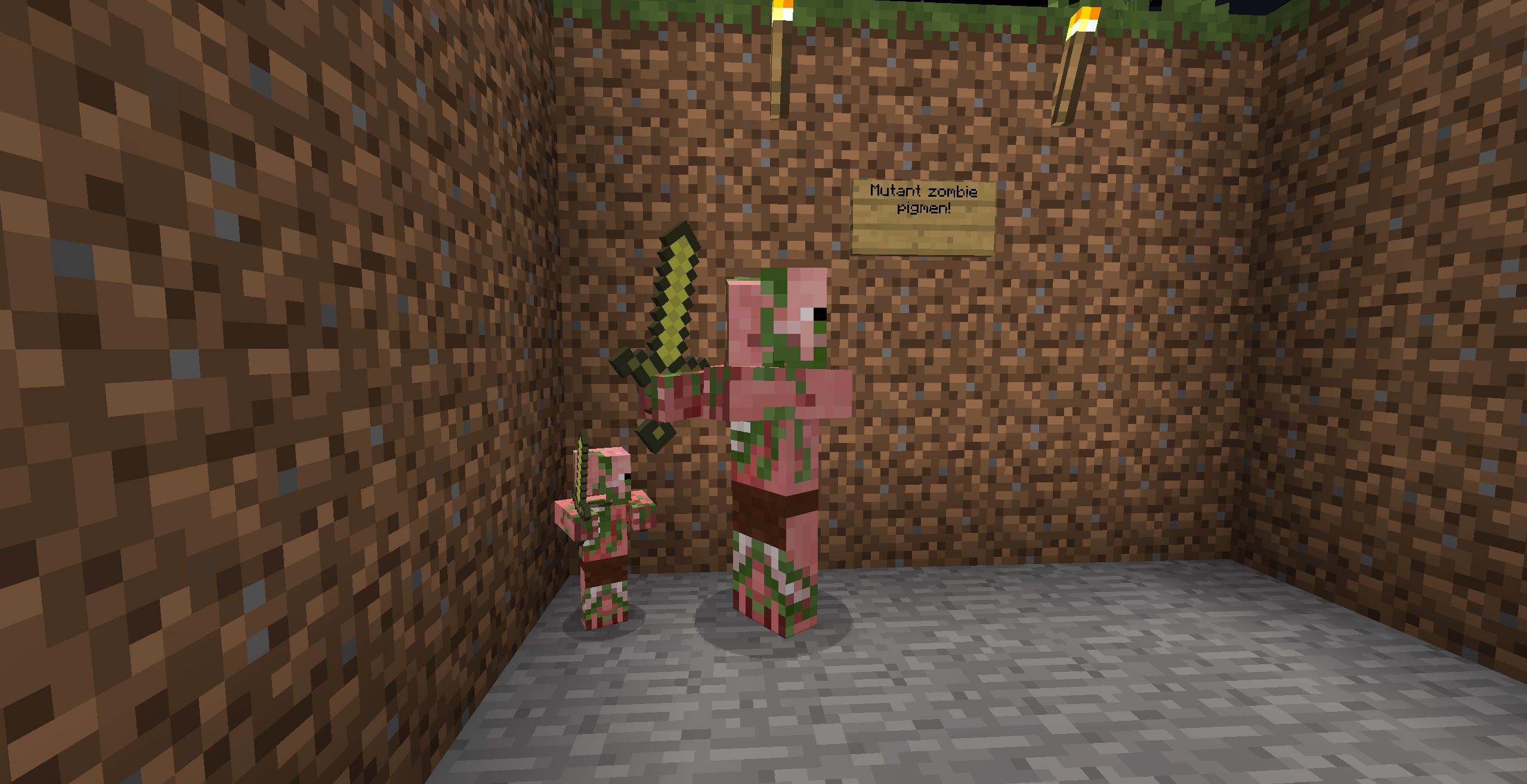 Mutant zombie pigman vs mutant zombie - photo#15