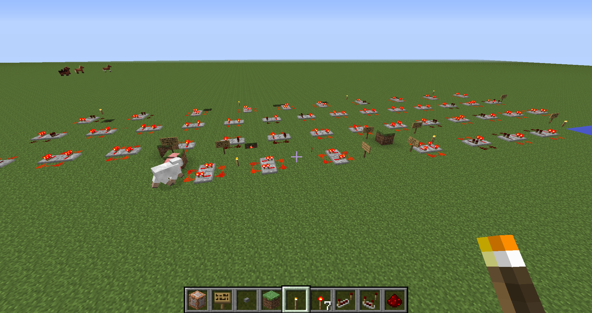 Mc 711 Tile Ticks Of Connected Redstone Components Might Be Related To Minecraft How Create A Repeating Circuit 14w21b Worldmc Bug Testzip After Tp