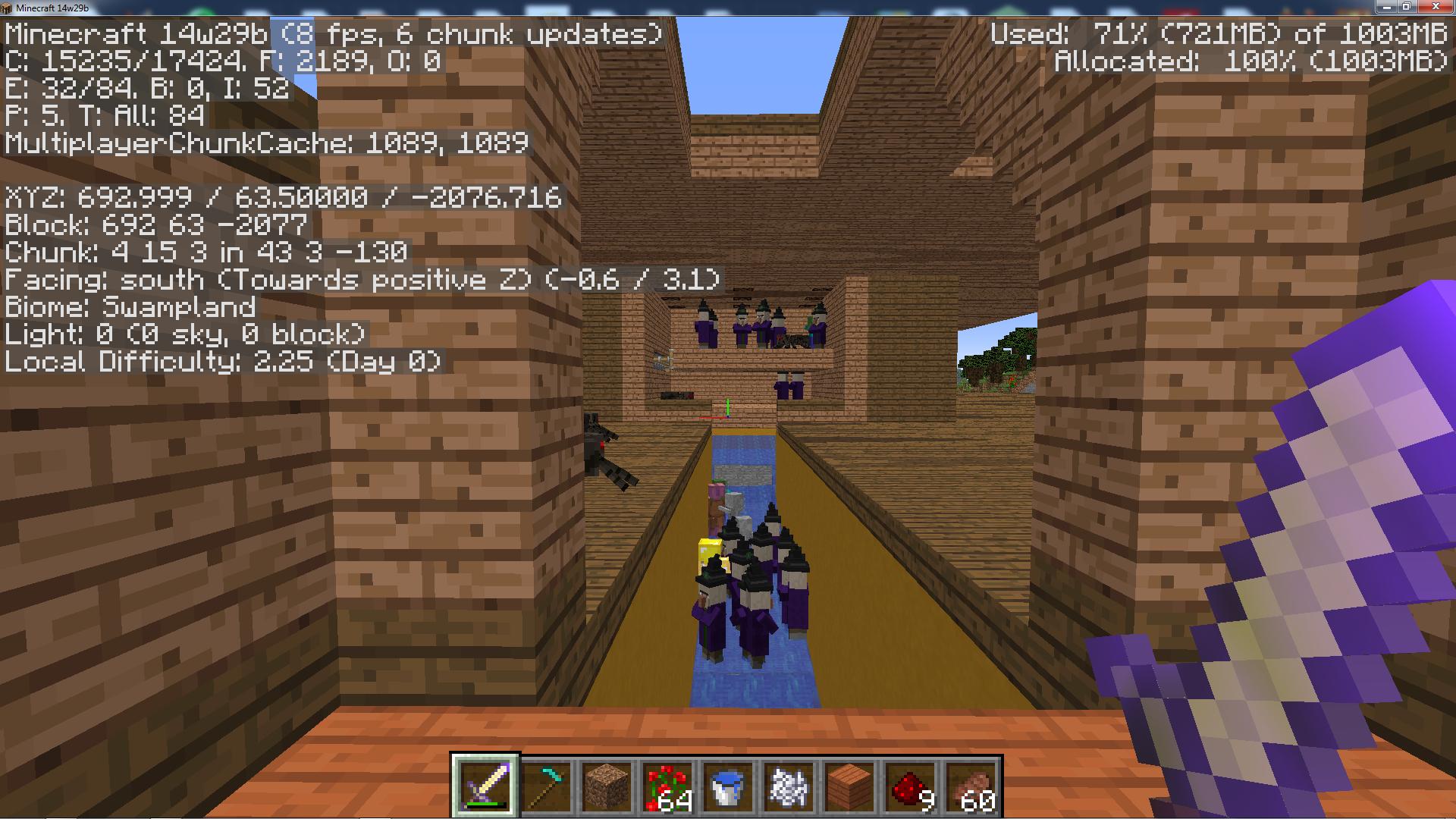 minecraft witch farm 1.13