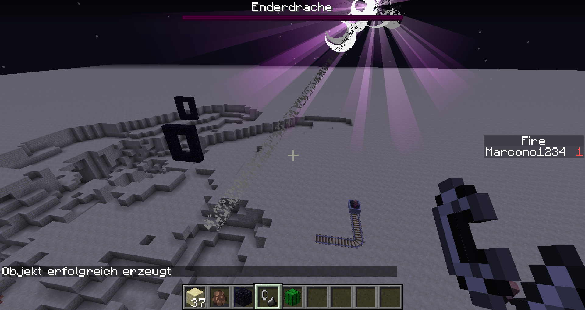 MC-64382] Dying Ender Dragon healed by a destroyed Ender Crystal - Jira