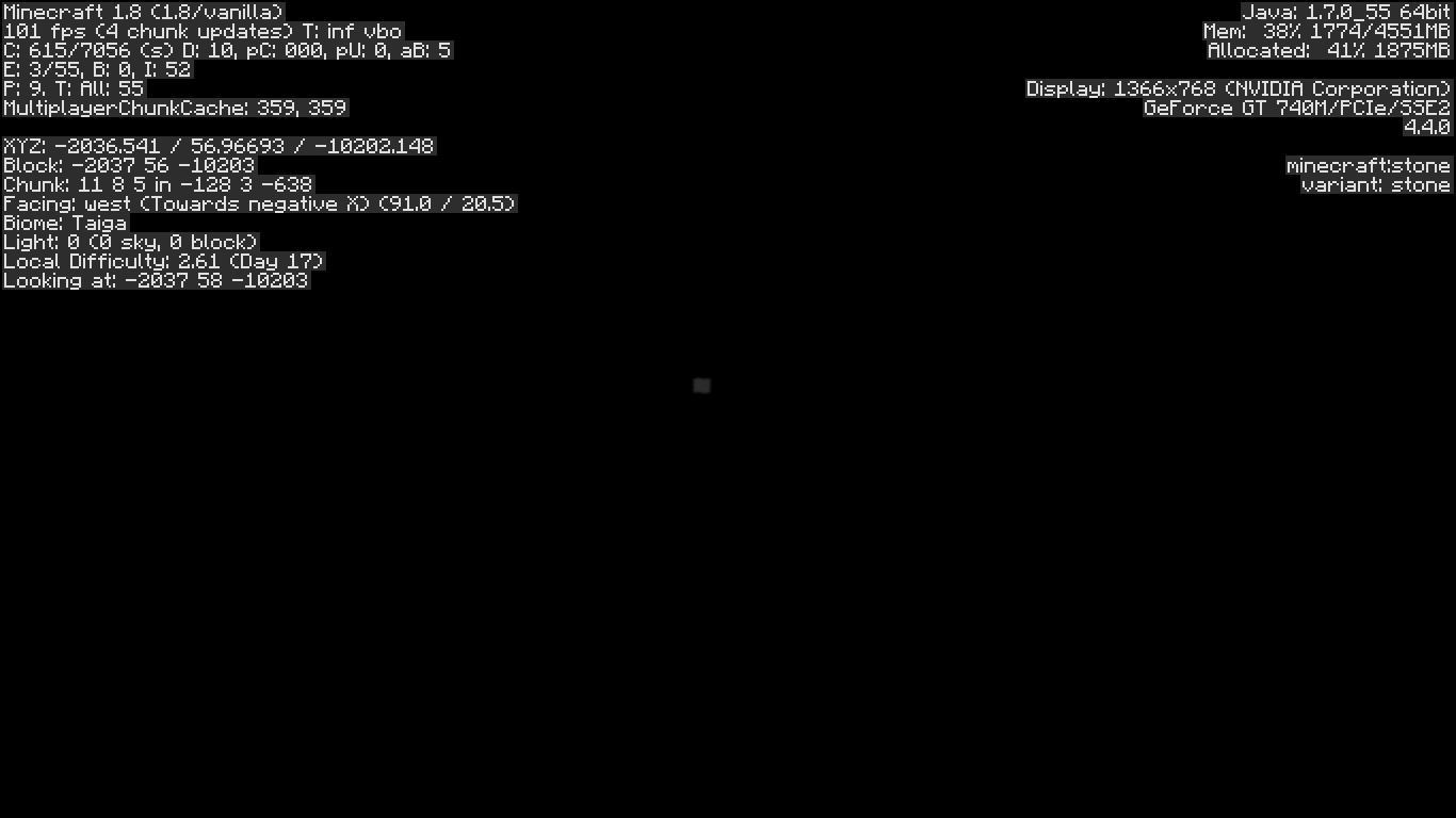 MC-71436] Screen goes black when