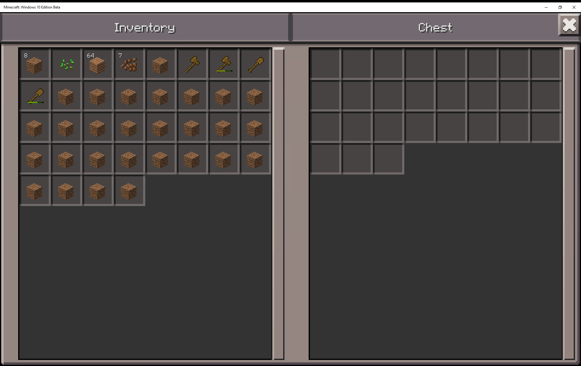 MCPE-9960] Inventory items can go to invisible slots - Jira