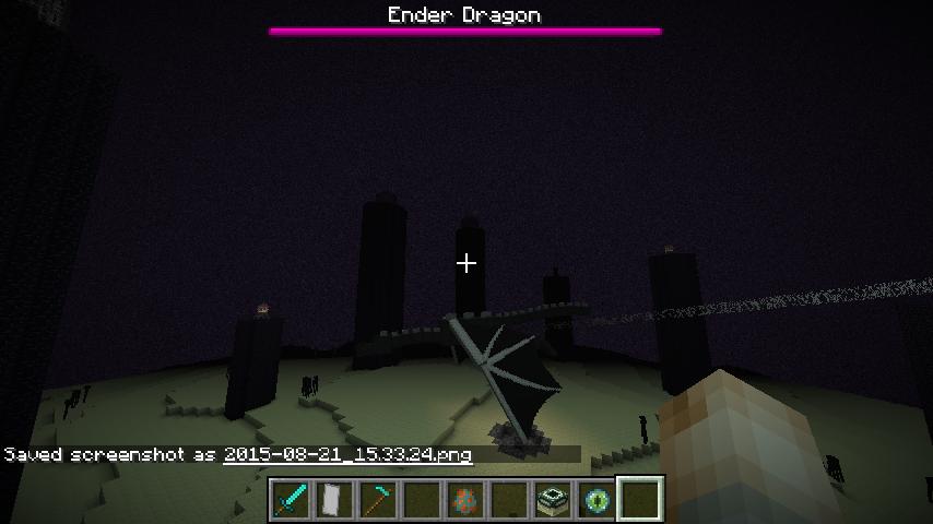 Mc 86941 Enderdragon Has No Health Bar In Overworld Jira