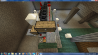 Image 4 - Input Chest and Mechanism to Control Flow of Items (Redstone Torch).png