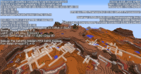 (18w06a) Not generated floating mesa mineshafts.png