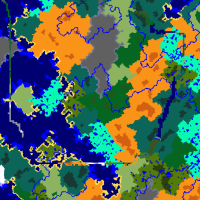 [Seed -488963417782474398 from MC 1_6_4] [Map Biomes 2D Overworld] [XZ -1024 to 1023] [MC 1_13].png