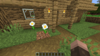 When a village is generated barriers can be coupled to invalid blocks.png
