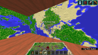 Glitched maps with the other maps still loaded in older versions.png