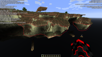 Minecraft 1.16 Snapshot 20w21a Floating Islands Endstone bug.png